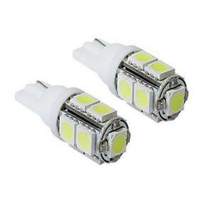Lâmpada Led Branca Esmagada 9 LEDS 12 Volts – 43-LED02